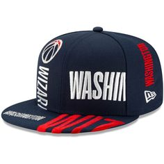 New Era Washington Wizards 2018 City Series On-Court 9FIFTY Snapback Hat Schwarz