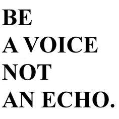 ღღ AND...Stand up for what you believe in, even if you're standing alone -- Words I live by!
