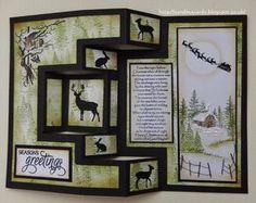 Sandma's Handmade Cards: Sample made for Inkylicious Christmas show on Hochanda