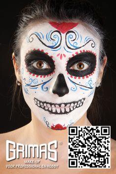 Catrina - www.maquillador.eu, ejemplos de maquillaje