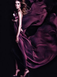 Purple is in - rich jewel tones for glamour are the thing to look for