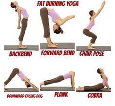 Fat burning yoga