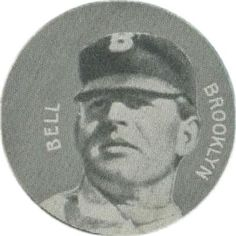 1909-11 Colgan's Chips Stars of the Diamond E254 #NNO George Bell Front