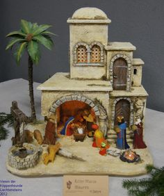 1 million+ Stunning Free Images to Use Anywhere Christmas Nativity Scene, Christmas Time, Christmas Crafts, Fontanini Nativity, Ceramic Glaze Recipes, Barn Wood Signs, Free To Use Images, Ceramic Houses, Craft Ideas