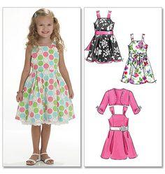b01977191eae McCall s Sewing Pattern Children s Girls  Shrug