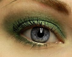ENVIOUS Mineral Eye Shadow  Metallic Green Mineral by BLSoaps, $7.95
