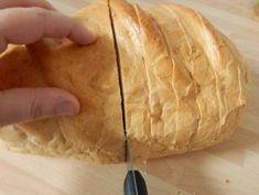 Töltött kenyér recept lépés 1 foto Bread, Food, Brot, Essen, Baking, Meals, Breads, Buns, Yemek