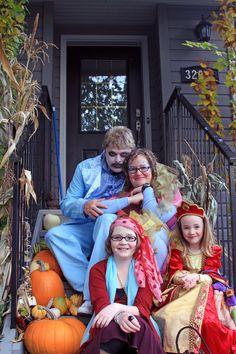 Halloween family photo.