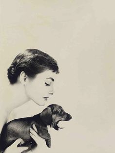 Coiffure, a photo by Lillian Bassman for Harper's Bazaar, 1954  via lauramcphee