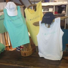 Fairhope Store tanks! June 2014. $24. Stay cool and breezy with this light and fun tanks!