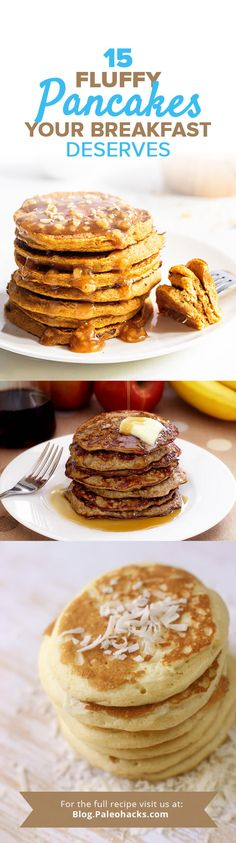 We rounded up the fluffiest grain-free Paleo pancakes to upgrade your breakfast! For the full pancake recipe collection visit us here: http://paleo.co/pancakercp