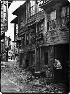 ✿ ❤ Bir Zamanlar İSTANBUL,  Yahudi Mahallesi - 1912