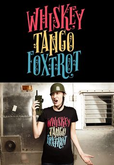 """""""Whiskey Tango Foxtrot"""" by Esther Aarts - reprinted May 29, 2012"""