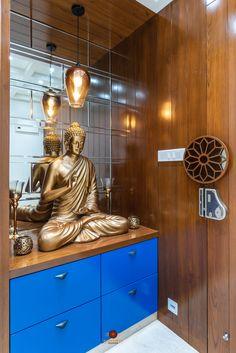 Roman and Modern Concept Apartment Interiors Pooja Room Door Design, Main Door Design, Foyer Design, Ceiling Design, Altar Design, Home Entrance Decor, House Entrance, Entryway Decor, Modern Entryway