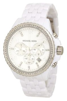 Michael Kors Women's White Watch