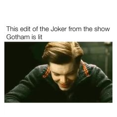 Jerome  Follow @stupidcharger for more! Gotham Joker, Instagram Posts