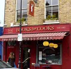 A Tour of London's Bookshop Café Books for Cooks