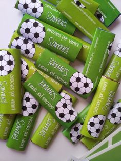 Soccer Birthday Parties, Football Birthday, Soccer Party, Sports Party, Soccer Treats, Soccer Decor, Spa Party, Christmas Crafts For Kids, Holidays And Events