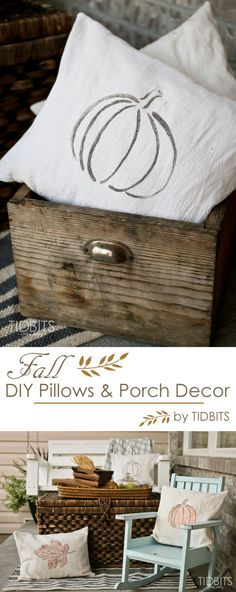 Fall Pillows, Printa