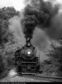 RailPictures.Net Photo: SOU 4501 Southern Railway Steam 2-8-2 at Ooltewah, Tennessee by Chip Allen