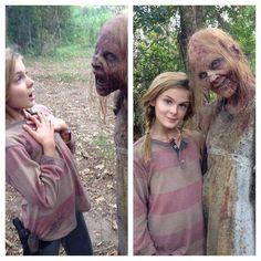 Lizzie with a Zombie Friend