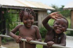 The Children of Africa are Smiling!