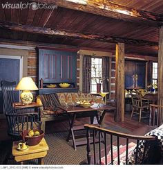 living_room_-_rustic_hand_hewn_posts_and_beams_log_walls_primitive_furnishings_LJW1_2513-033.jpg 645×670 pixels