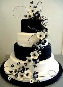 A Family Tree of Holidays - Christmas Trees: Black and White Wedding Cakes - Bipolar to the core