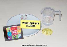 Ina i Sewa: 60 Eksperymentów dla dzieci - zestawienie Liquid Measuring Cup, Diy Crafts For Kids, Science, Den, Crafts, Crafting