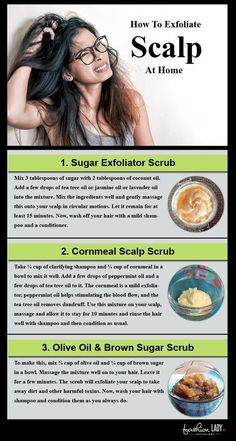 """Olive oil & Brown Sugar scrub """"Keeping a clean, hydrated, and nourished scalp is the foundation for healthy hair growth."""" # healthy Hair How To Exfoliate Your Scalp at Home? Exfoliate Scalp, Scalp Scrub, Dry Scalp, Scalp Mask, Brown Sugar Scrub, Coconut Oil Hair Mask, Hair Remedies, Dandruff Remedy, Itchy Scalp Remedy"""