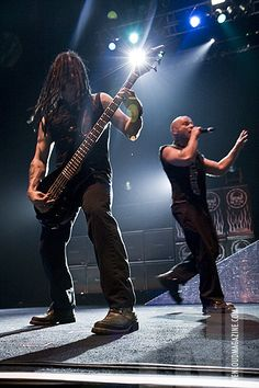 Disturbed. I could listen to them all day!