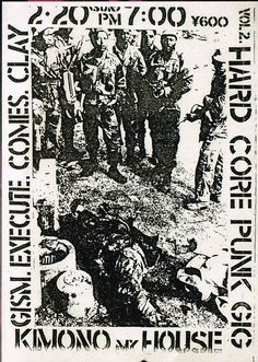 Hardcore Punk GIG Vol.2   1983.2.20 at 新宿Kimono My House