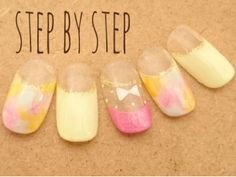 パステルタイダイ   東京都・江古田・練馬のネイルサロン Step by Step Nailのネイル   Rasysa(らしさ)