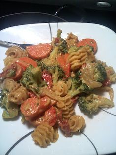 a nice vegan and gluten-free pasta recipe, this celiac girl knows how to make good food