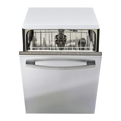 BETRODD Built-in dishwasher IKEA Limited Warranty. Read about the terms in the Limited Warranty brochure. How To Use Dishwasher, Built In Dishwasher, Clean Dishwasher, At Home Furniture Store, Modern Home Furniture, Dad's Kitchen, Kitchen Ideas, Kitchen Modern, Kitchen Design
