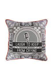 MIA WIDLAKE LAUGH 60X60CM SCATTER CUSHION Scatter Cushions, Throw Pillows, African Design, Cushion Covers, Wall Art, Live, Toss Pillows, Small Cushions, Cushions