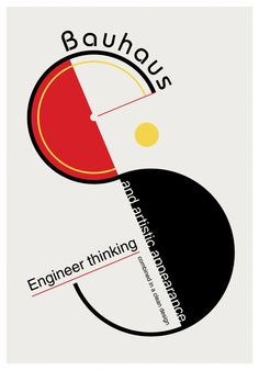 30 Bauhaus-inspired Posters in 2019 Bauhaus Art, Bauhaus Style, Bauhaus Design, Bauhaus Logo, Typography Inspiration, Graphic Design Inspiration, Typography Design, Lettering, Graphic Design Magazine
