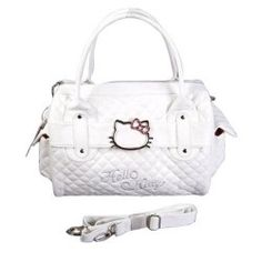 Hello Kitty Shopping Bag Handbag Tote Purse White - House Of Fashion Hello Kitty Handbags, Hello Kitty Purse, Hello Kitty Items, Tote Purse, Tote Handbags, Coach Purses, Purses And Bags, Hello My Love, Hello Hello