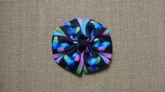 Butterfly Hairbow Rainbow Hairbow Girls by GloriaMillerCreation