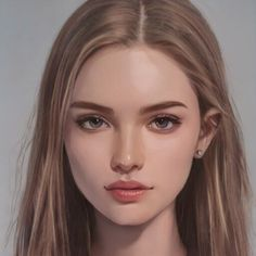 Digital Art Girl, Digital Portrait, Portrait Art, Fantasy Inspiration, Character Inspiration, Girl Cartoon, Cartoon Art, Character Portraits, Character Art