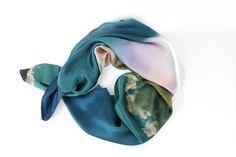 beautiful cloud scarf at moorea seal! 100% silk