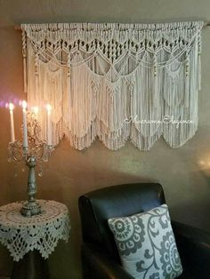 Extra Large Macrame Wall Hanging Tapestry Wedding #housewares #homedecor @EtsyMktgTool http://etsy.me/2y2apEX