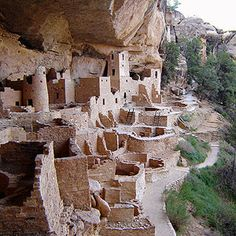 Mesa Verde / Colorado /Puebloans resided here more than 700 years ago.