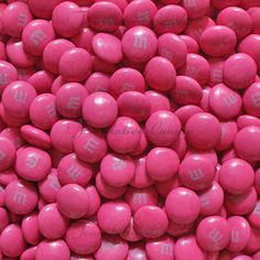 Dark Pink M and M's! Yummmmmmy!!! #Pink #Candy #DarkPink
