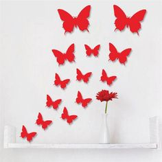 Cheap sticker poster printing, Buy Quality sticker card directly from China stickers jdm Suppliers:     12 Pcs/Lot PVC 3D DIY Butterfly Wall Stickers Home Decor Posterfor KitchenBathroom Adhesive to Wall Deca