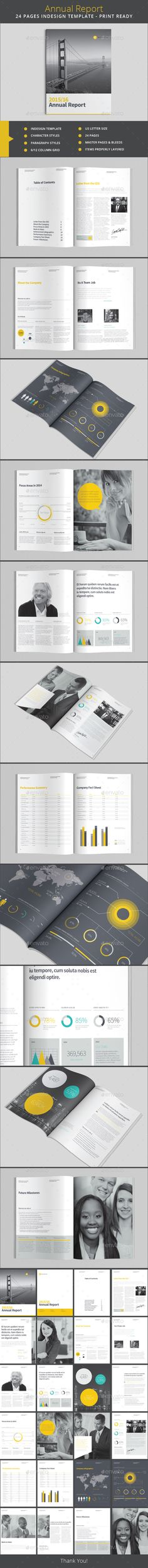 Annual Report Template #design Download: http://graphicriver.net/item/annual-report-template/13308774?ref=ksioks