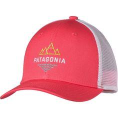 865fcb4c9cd Patagonia Trucker Hat - Girls  Peak To Paddle Shock Pink Patagonia Hat