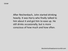 Submission by Anonymous - Sherlock Headcanon