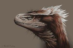 Utahraptor by *AntarcticSpring on deviantART