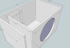 Hasil gambar untuk subwoofer box design for 12 inch 12 Inch Speaker Box, Car Speaker Box, Speaker Plans, Speaker Box Design, 12 Inch Subwoofer Box, Diy Subwoofer, Subwoofer Box Design, Diy Boombox, Car Audio